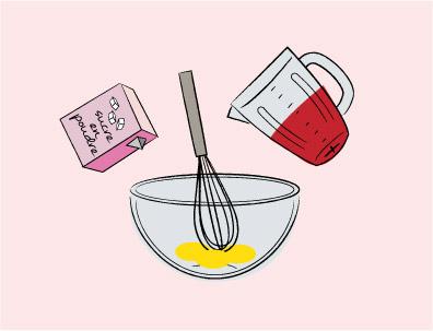 Graphiste illustrateur / Recette de cuisine charlotte