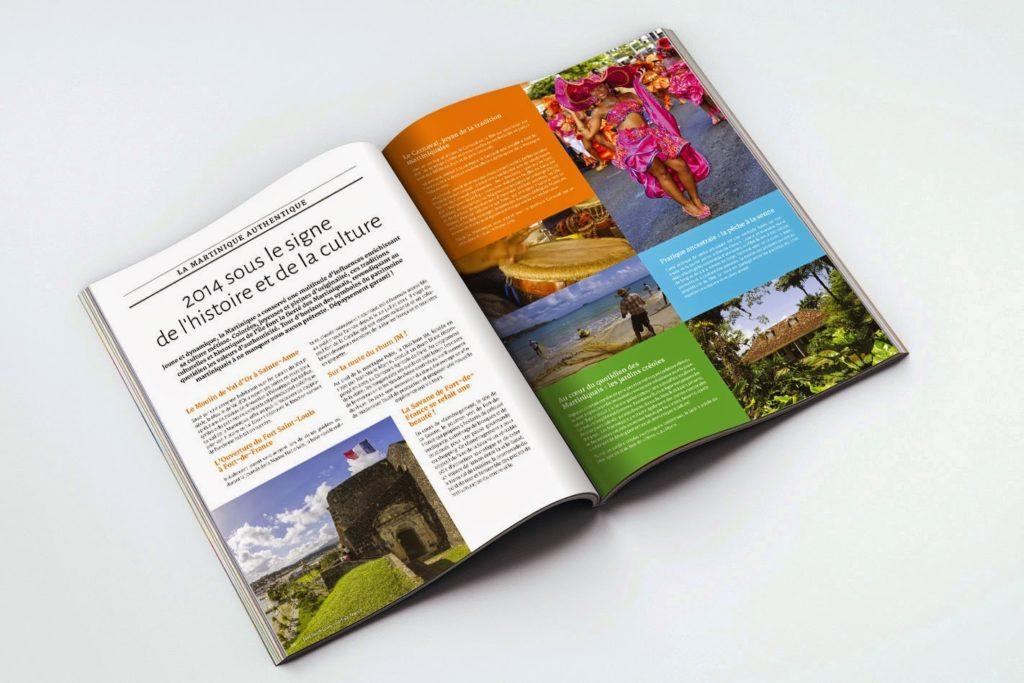 Création dossier de presse touristique / Graphiste freelance Paris 14e