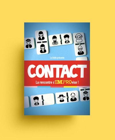 Création de visuel concept spectacle / Graphiste freelance Paris 14