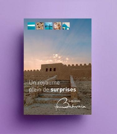 Création du dossier de presse Bahreïn / Graphiste freelance Paris