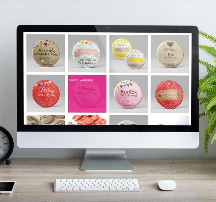 Création du site boutique Bulles de neige / Graphiste freelance Paris 14