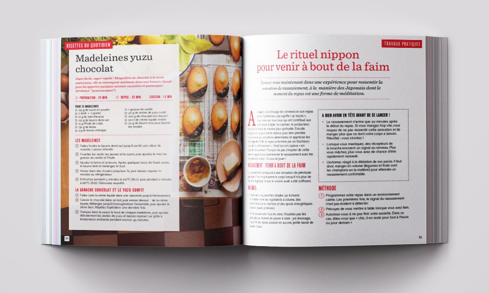 Création Graphisme Magazine de cuisine