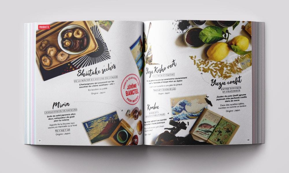 Graphisme Box de cuisine