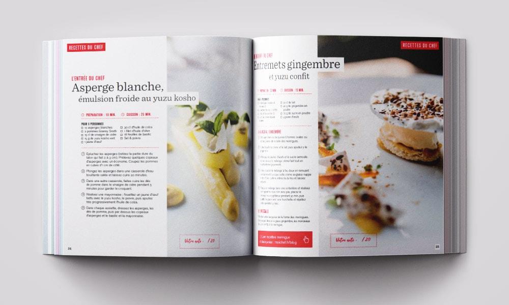 Mise en page Recettes de cuisine